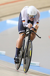 March 4, 2018 - Apeldoorn, Netherlands - Eric Engler (GER) - Men's 1km time trial .during UCI Track Cycling World Championships Apeldoorn 2018, in Apeldoorn, Netherlands, on March 4, 2018. (Credit Image: © Foto Olimpik/NurPhoto via ZUMA Press)