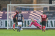 St Johnstone's Brian Graham beats Dundee keeper Scott Bain from the penalty spot to equalise -  Dundee v St Johnstone, SPFL Premiership at Dens Park<br /> <br />  - &copy; David Young - www.davidyoungphoto.co.uk - email: davidyoungphoto@gmail.com