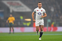 November 18, 2017 - London, England, United Kingdom - England's George Ford during Old Mutual Wealth Series between England against Argentina at Twickenham stadium , London on 11 Nov 2017  (Credit Image: © Kieran Galvin/NurPhoto via ZUMA Press)