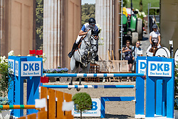 BORCHERT Max-Hilmar (GER), Cent-Blue<br /> Berlin - Global Jumping Berlin 2018<br /> CSI2* Large Tour<br /> 27. Juli 2018<br /> © www.sportfotos-lafrentz.de/Stefan Lafrentz