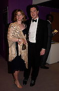 M.P.  George  Osborne ( Shadow Chancellor)  with his wife Frances. The Grosvenor House Art and Antiques Fair charity Gala evening in aid of the NSPCC. 16 June2005. ONE TIME USE ONLY - DO NOT ARCHIVE  © Copyright Photograph by Dafydd Jones 66 Stockwell Park Rd. London SW9 0DA Tel 020 7733 0108 www.dafjones.com