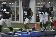 Ole Miss' John Youngblood (47) at football practice at the Manning Center, in Oxford, Miss. on Monday, August 18, 2014.