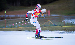 20.12.2014, Nordische Arena, Ramsau, AUT, FIS Nordische Kombination Weltcup, Staffel Langlauf, im Bild Mikko Kokslien (NOR) // during Cross Country of FIS Nordic Combined World Cup, at the Nordic Arena in Ramsau, Austria on 2014/12/20. EXPA Pictures © 2014, EXPA/ JFK
