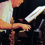 Pianist and PMAC faculty member Jeff Auger performs in Jazz Night 2012 at The Loft in Portsmouth, NH