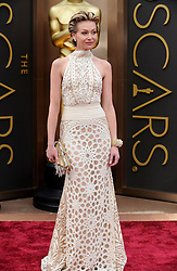Portia de Rossi arriving to the 2014 Oscars at the Hollywood and Highland Center in Hollywood, California, USA,  Sunday, 2nd March 2014. Picture by Hollywood Bubbles / i-Images<br /> UK ONLY