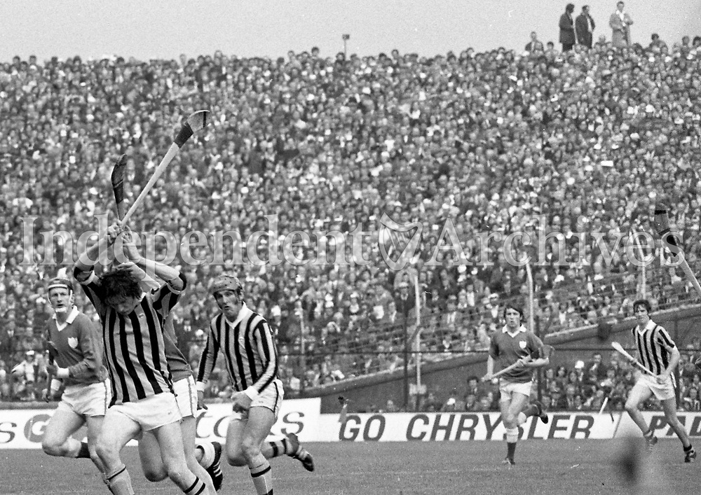 974-11<br /> Kilkenny v Limerick<br /> All-Ireland Hurling Final at Croke Park. 1/9/74<br /> (Part of the Independent Newspapers Ireland/NLI collection.)