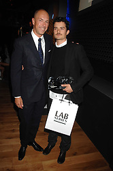 Left to right, DYLAN JONES and actor ORLANDO BLOOM at the 10th annual GQ Men of the Year Awards held at the Royal Opera House, Covent Garden, London on 4th September 2007.<br /><br />NON EXCLUSIVE - WORLD RIGHTS