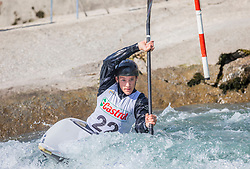 Pavsic Andraz (Soske elektrarne / Slovenia) during ICF Canoe Slalom Ranking Race Tacen 2018, on April 8, 2018 in Ljubljana, Slovenia. Photo by Urban Meglic / Sportida