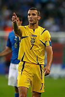 Photo: Glyn Thomas.<br />Italy v Ukraine. Quarter Finals, FIFA World Cup 2006. 30/06/2006.<br /> Ukraine's Andriy Shevchenko.