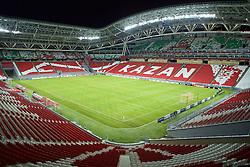 KAZAN, RUSSIA - Wednesday, November 4, 2015: A general view view of the Kazan Arena ahead of the UEFA Europa League Group Stage Group B match between FC Rubin Kazan and Liverpool. (Pic by Oleg Nikishin/Propaganda)