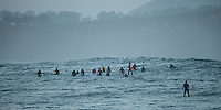 Mavericks 2014, Half Moon Bay, competitors before start