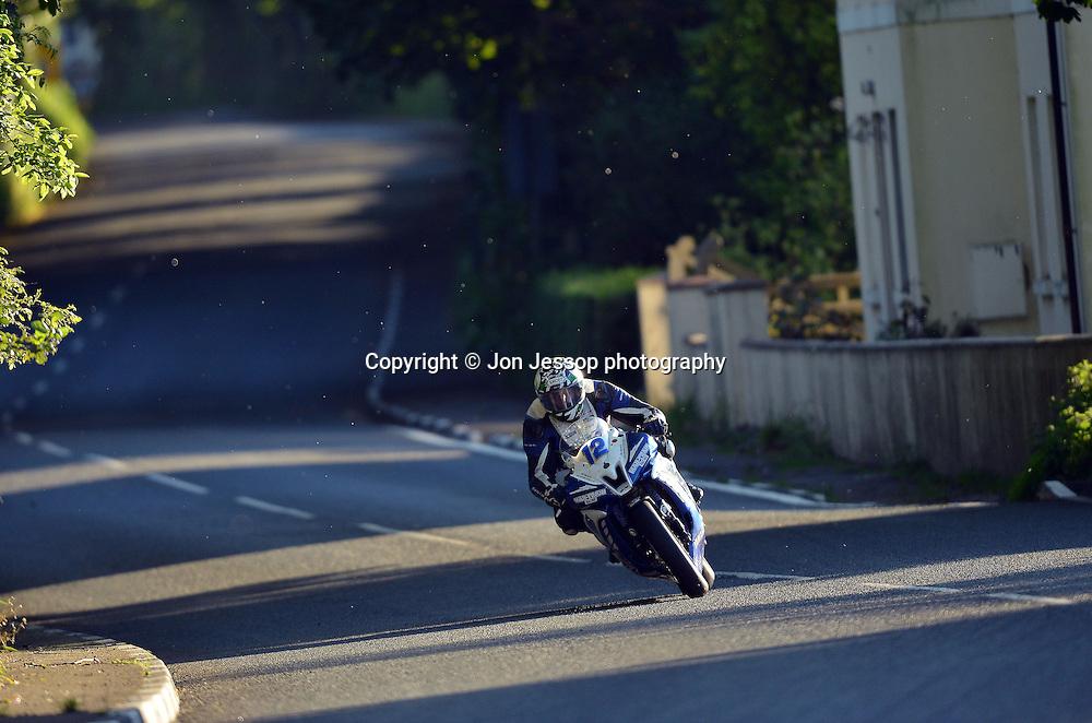 #12 Dean Harrison Yamaha Mar-Train Racing