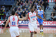 DESCRIZIONE : Pesaro Lega A 2012-13 Scavolini Banca Marche Pesaro Enel Brindisi<br /> GIOCATORE : Lamont Mack<br /> CATEGORIA : esultanza<br /> SQUADRA : Scavolini Banca Marche Pesaro<br /> EVENTO : Campionato Lega A 2012-2013 <br /> GARA : Scavolini Banca Marche Pesaro Enel Brindisi<br /> DATA : 10/03/2013<br /> SPORT : Pallacanestro <br /> AUTORE : Agenzia Ciamillo-Castoria/C.De Massis<br /> Galleria : Lega Basket A 2012-2013  <br /> Fotonotizia : Pesaro Lega A 2012-13 Scavolini Banca Marche Pesaro Enel Brindisi<br /> Predefinita :