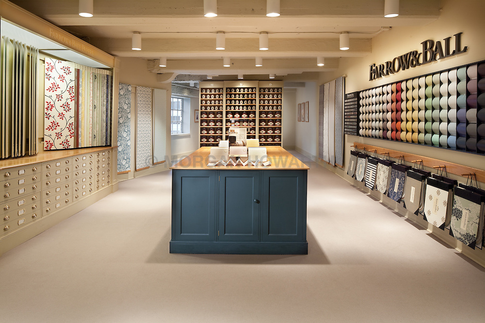 Farrow & Ball showroom at Washington DC Design Center