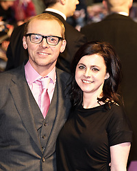 © under license to London News Pictures. 07/02/2011. Simon Pegg attends the World premiere of Paul at The Empire Cinema, Leicester Square, London. Picture credit should read: Julie Edwards/London News Pictures
