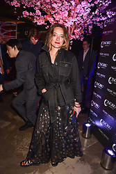 Alice Temperley at the launch of Nobu Hotel London Shoreditch,10-50 Willow Street, London, England. 15 May 2018.