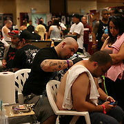 Tattoo artists at the 18th Annual South Florida Tattoo Expo<br />