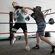Boxing Gym Training at Sweet Z's Boxing Gym in Kansas City, KS, 66106.