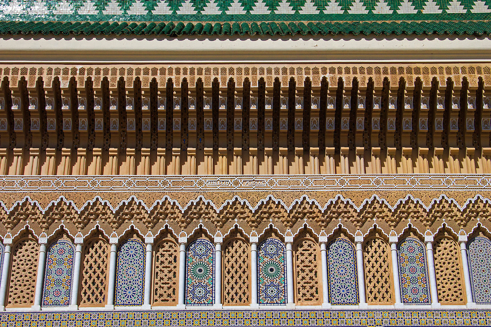 North Africa, Morocco, Fes. Dar el Makhzen, or Royal Palace of Fes.