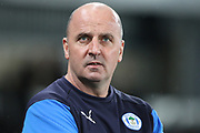 Wigan Athletic manager Paul Cook during the EFL Sky Bet Championship match between Derby County and Wigan Athletic at the Pride Park, Derby, England on 5 March 2019.