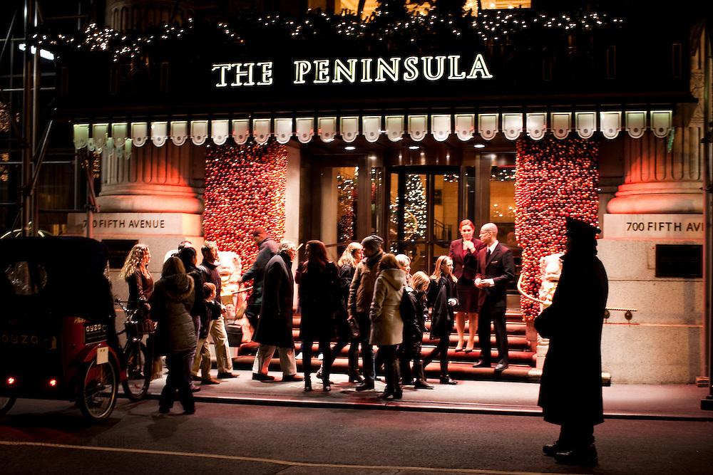 New York, New York. Etats Unis. 18 Decembre 2010..New York, New York. United States. December 18th 2010..