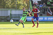 Forest Green Rovers Liam Noble(15) plays a pass during the Vanarama National League match between Forest Green Rovers and Aldershot Town at the New Lawn, Forest Green, United Kingdom on 5 November 2016. Photo by Shane Healey.