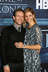 Glenn Howerton, Jill Latiano at the Game of Thrones Season 6 Premiere Screening at the TCL Chinese Theater IMAX on April 10, 2016 in Los Angeles, CA. EXPA Pictures © 2016, PhotoCredit: EXPA/ Photoshot/ Kerry Wayne<br /> <br /> *****ATTENTION - for AUT, SLO, CRO, SRB, BIH, MAZ, SUI only*****