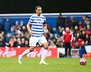Rio Ferdinand during the The FA Cup match between Queens Park Rangers and Sheffield Utd at the Loftus Road Stadium, London, England on 4 January 2015. Photo by David Charbit.