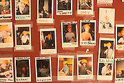 The wall of El Jefe winners at Fire on the Mountain on E. Burside Street in Portland, Oregon.