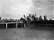 Irish Grand National at Fairyhouse. The 1958 winner was 'Gold Legend' .07/04/1958 .