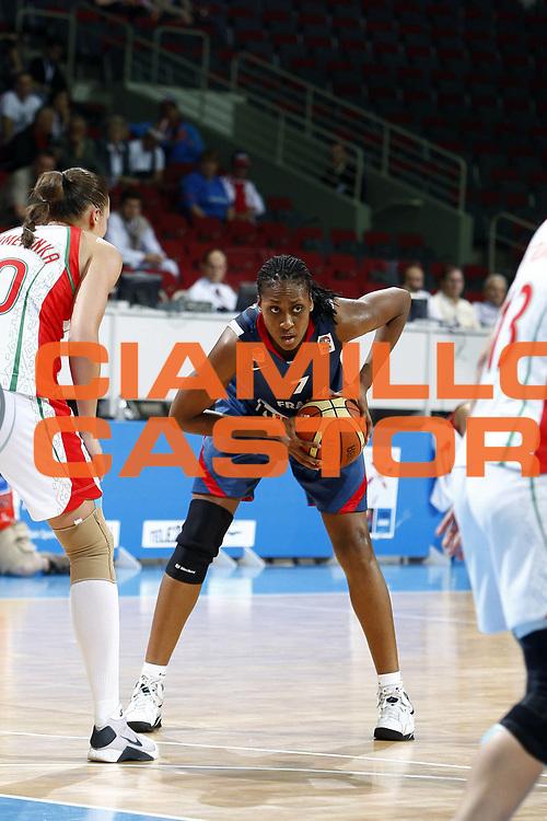 DESCRIZIONE : Riga Latvia Lettonia Eurobasket Women 2009 Semifinal Bielorussia Francia Belarus France<br /> GIOCATORE :  Sandrine Gruda<br /> SQUADRA : Francia France<br /> EVENTO : Eurobasket Women 2009 Campionati Europei Donne 2009 <br /> GARA : Bielorussia Francia Belarus France<br /> DATA : 19/06/2009 <br /> CATEGORIA : <br /> SPORT : Pallacanestro <br /> AUTORE : Agenzia Ciamillo-Castoria/E.Castoria<br /> Galleria : Eurobasket Women 2009 <br /> Fotonotizia : Riga Latvia Lettonia Eurobasket Women 2009 Semifinal Bielorussia Francia Belarus France<br /> Predefinita :