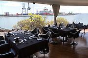 Restaurant inside Museum of Contemporary Art, Lanzarote, Canary islands, Spain