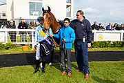 Mr Tyrrell ridden by Sean Levey and trained by Richard Hannon in the F45 Bath Group Training, Life Changing Handicap race.  - Ryan Hiscott/JMP - 06/05/2019 - PR - Bath Racecourse- Bath, England - Kids Takeover Day - Monday 6th April 2019