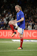 Emmanuel Petit (France 98) at warm up during the 2018 Friendly Game football match between France 98 and FIFA 98 on June 12, 2018 at U Arena in Nanterre near Paris, France - Photo Stephane Allaman / ProSportsImages / DPPI
