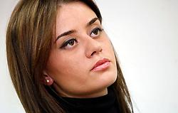 PRISTINA, KOSOVO - DECEMBER 14 - prevajalka, zenska, zena, dekle
