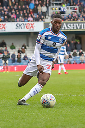 March 9, 2019 - London, England, United Kingdom - Queens Park Rangers Olamide Shodipo during the second half of the Sky Bet Championship match between Queens Park Rangers and Stoke City at Loftus Road Stadium, London on Saturday 9th March 2019. (Credit Image: © Mi News/NurPhoto via ZUMA Press)