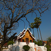 The Ubosot of Wat Suchadaram, Lampang. The temple is located at the Wat Phra Kaeo Don Tao site in Lamphang, Thailand and is one of the venerated sites that has been home to the Emerald Buddha in the past.