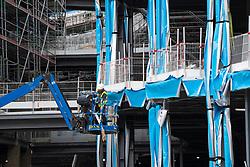 Edinburgh, Scotland, UK. 22 June, 2020. Construction work going on at new St James Centre development. Iain Masterton/Alamy Live News
