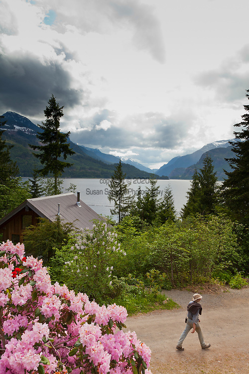 Views in and around the facilities at Strathcona Park Lodge