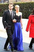 l to r: Joshua Jackson and Diane Kruger arrive at The Metropolitan Opera's 125th Anniversary Gala and Placido Domingo's 40th Anniversary Celebration underwritten by Yves Saint Laurent held at The Metropolitian Opera House, Lincoln Center on March 15, 2009 in New York City.