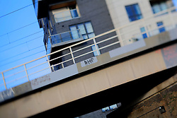 UK ENGLAND LONDON 8DEC13 - A modern residential development in Chapman Road,  Hackney, east London.<br /> <br /> jre/Photo by Jiri Rezac<br /> <br /> <br /> <br /> © Jiri Rezac 2013