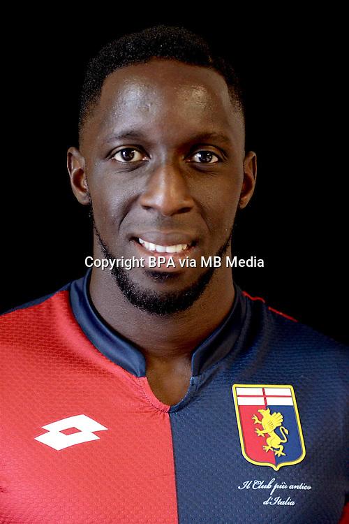 Italian League Serie A -2015-2016 / <br /> ( Genoa  CFC  ) - <br /> Issa Cissokho