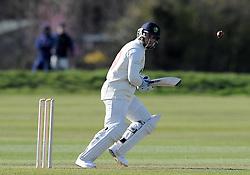 Glamorgan's Ben Wright - Photo mandatory by-line: Harry Trump/JMP - Mobile: 07966 386802 - 24/03/15 - SPORT - CRICKET - Pre Season Fixture - Day 2 - Somerset v Glamorgan - Taunton Vale Cricket Club, Somerset, England.