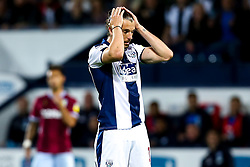 Jay Rodriguez of West Bromwich Albion cuts a dejected figure - Mandatory by-line: Robbie Stephenson/JMP - 14/05/2019 - FOOTBALL - The Hawthorns - West Bromwich, England - West Bromwich Albion v Aston Villa - Sky Bet Championship Play-off Semi-Final 2nd Leg