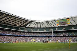 General View during the match - Rogan Thomson/JMP - 03/09/2016 - RUGBY UNION - Twickenham Stadium - London, England - Saracens v Worcester Warriors - Aviva Premiership London Double Header.