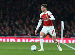 October 31, 2018 - London, England, United Kingdom - London, UK, 31 October, 2018.Carl Jenkinson of Arsenal.During Carabao Cup fourth Round between Arsenal and Blackpool at Emirates stadium , London, England on 31 Oct 2018. (Credit Image: © Action Foto Sport/NurPhoto via ZUMA Press)