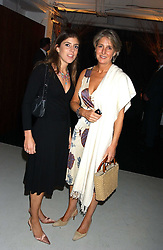 Left to right, LADY ROSE ALEXANDER and her mother COUNTESS ALEXANDER OF TUNIS at a party hosted by Jo Malone - Pomegranate Noir, held at The Vinyl Factory, 45 Foubert's Place, London W1 on 15th September 2005.<br />