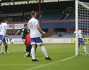 Simon Ferry gives Dundee the lead- Dundee v Peterhead, League Cup at Dens Park<br /> <br />  - &copy; David Young - www.davidyoungphoto.co.uk - email: davidyoungphoto@gmail.com