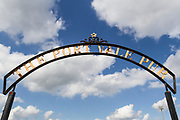 General view of the Port Vale stadium sign during the EFL Sky Bet League 2 match between Port Vale and Notts County at Vale Park, Burslem, England on 2 September 2017. Photo by Richard Holmes.