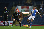 Blackburn Rovers midfielder, Ben Marshall (10) during the EFL Sky Bet Championship match between Blackburn Rovers and Brighton and Hove Albion at Ewood Park, Blackburn, England on 13 December 2016.